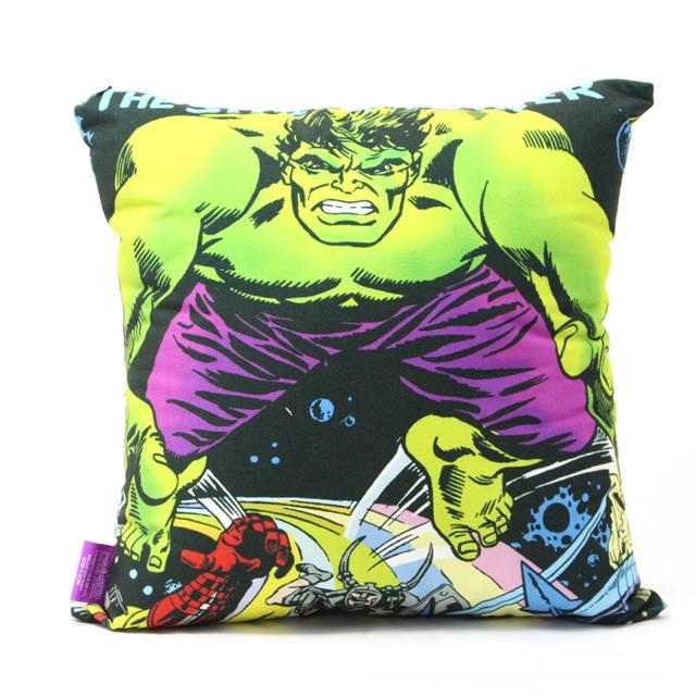 Almofada Hulk Ação - Zona Criativa  - Toyshow Colecionáveis