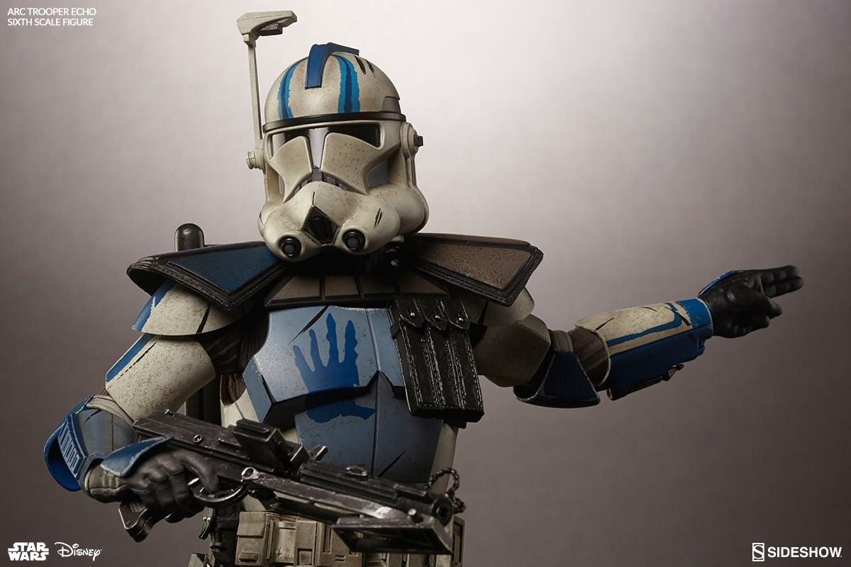 Boneco Arc Clone Trooper: Star Wars Escala 1/6 - Sideshow - CD