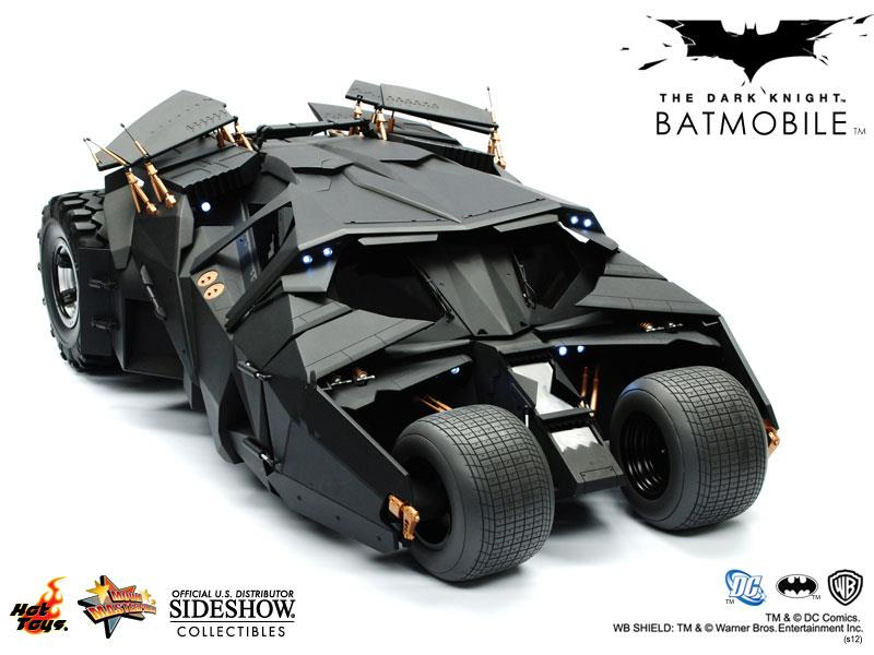Batman The Dark Knight Batmobile Tumbler Escala 1/6 - Hot Toys