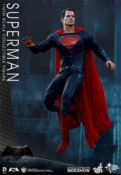 Batman Vs Superman: Dawn of Justice Superman Escala 1/6 - Hot Toys  - Toyshow Colecionáveis
