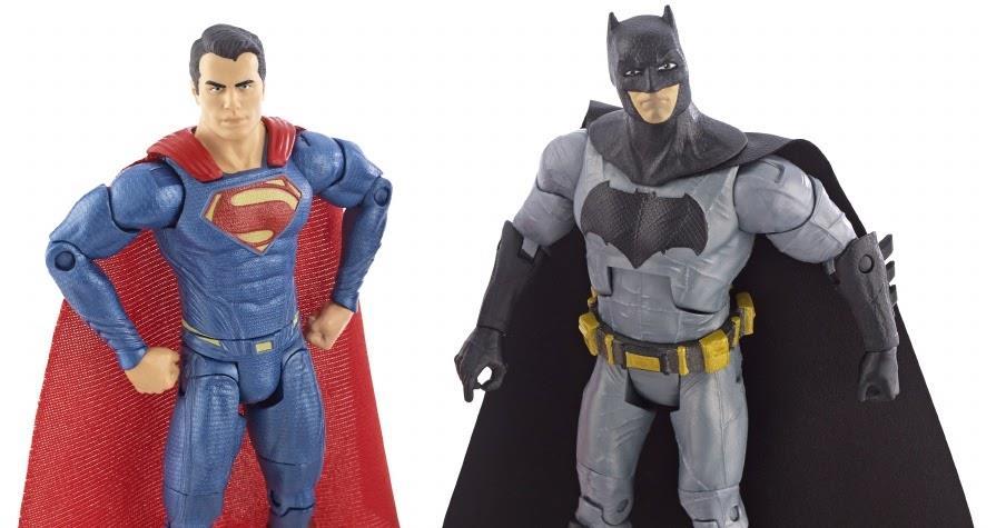 Batman Vs Superman San Diego Comic Con Exclusive Deluxe Box - Mattel