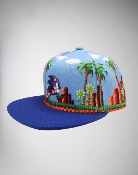 Boné Snapback: Sonic Tela  - Toyshow Colecionáveis