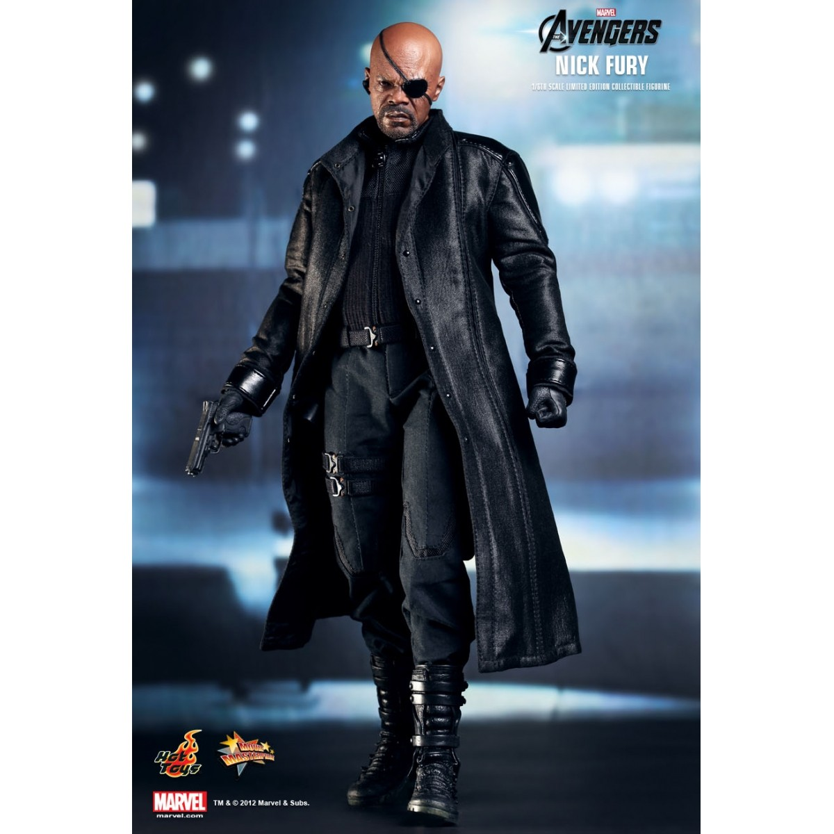 Boneco Nick Fury: Os Vingadores: The Avengers Escala 1/6 - Hot Toys