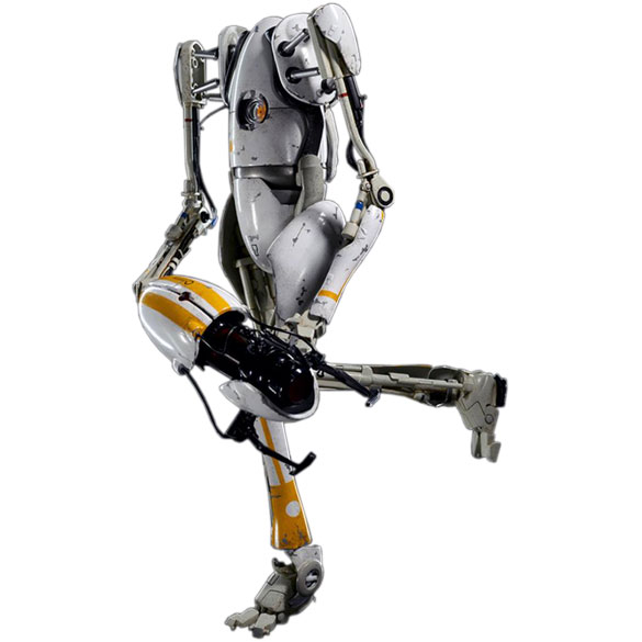 Boneco P-Body: Portal 2 Escala 1/6 - ThreeA - CD