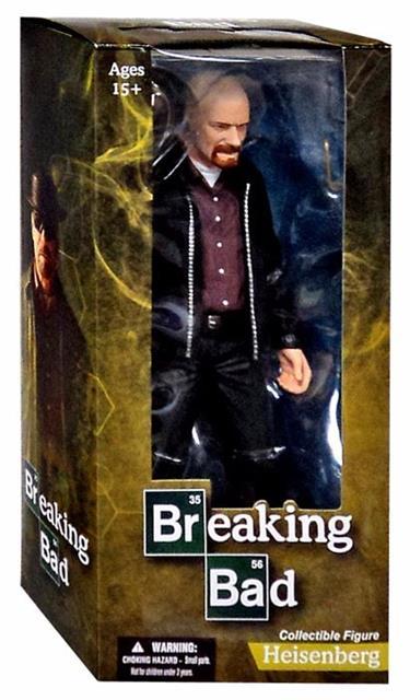 Breaking Bad: Heisenberg Escala 1/6 - Mezco  - Toyshow Colecionáveis