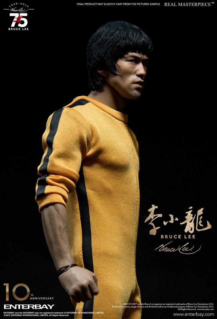 Bruce Lee 75th Anniversary Escala 1/6 - Enterbay  - Toyshow Colecionáveis