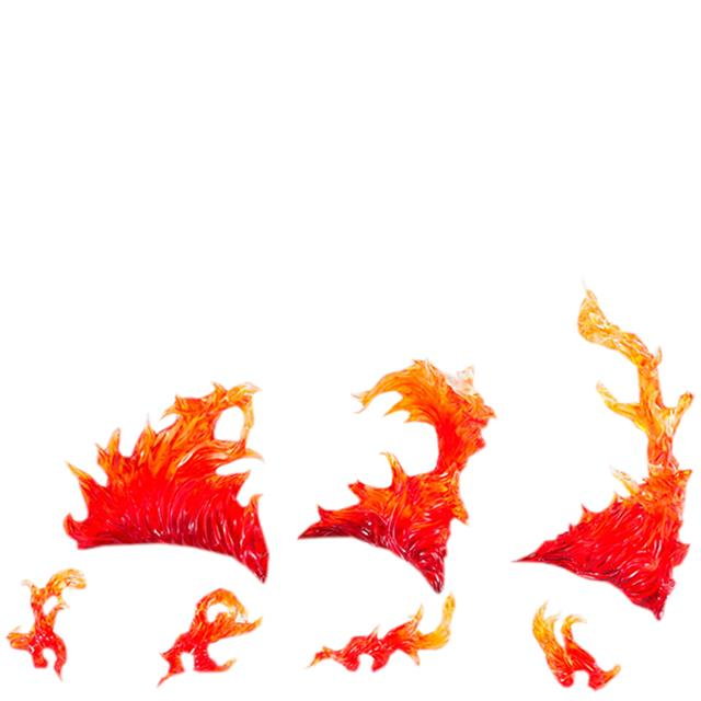 Burning Flame Red Tamashii Effect - Bandai