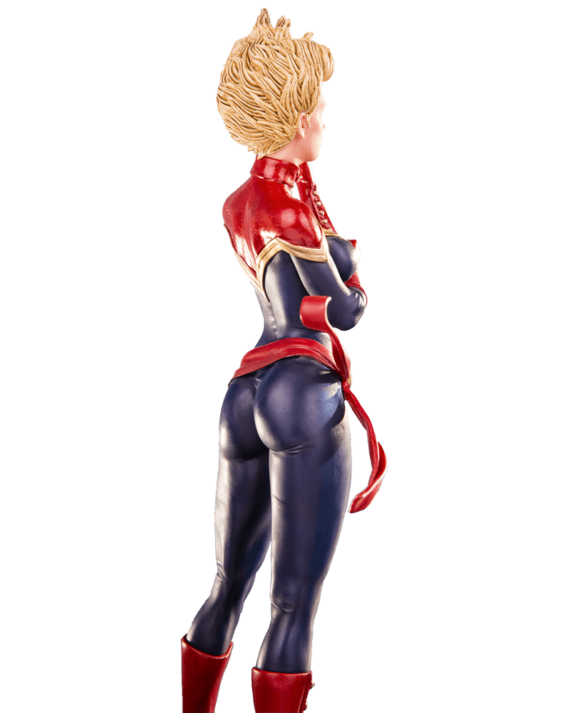 Estátua Capitã Marvel Escala 1/10 - Iron Studios - CD