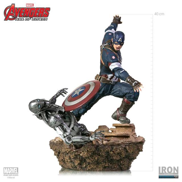 Capitão América Age Of Ultron Diorama Escala 1/6 - Iron Studios