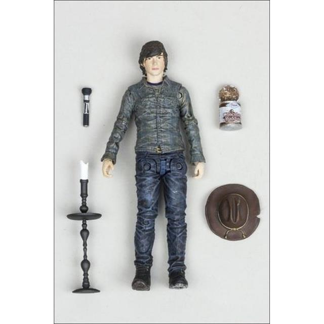 Boneco Carl Grimes: The Walking Dead Serie 7 - McFarlane