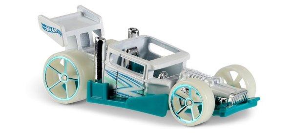 Carrinho Hot Wheels: Bone Speeder Branco