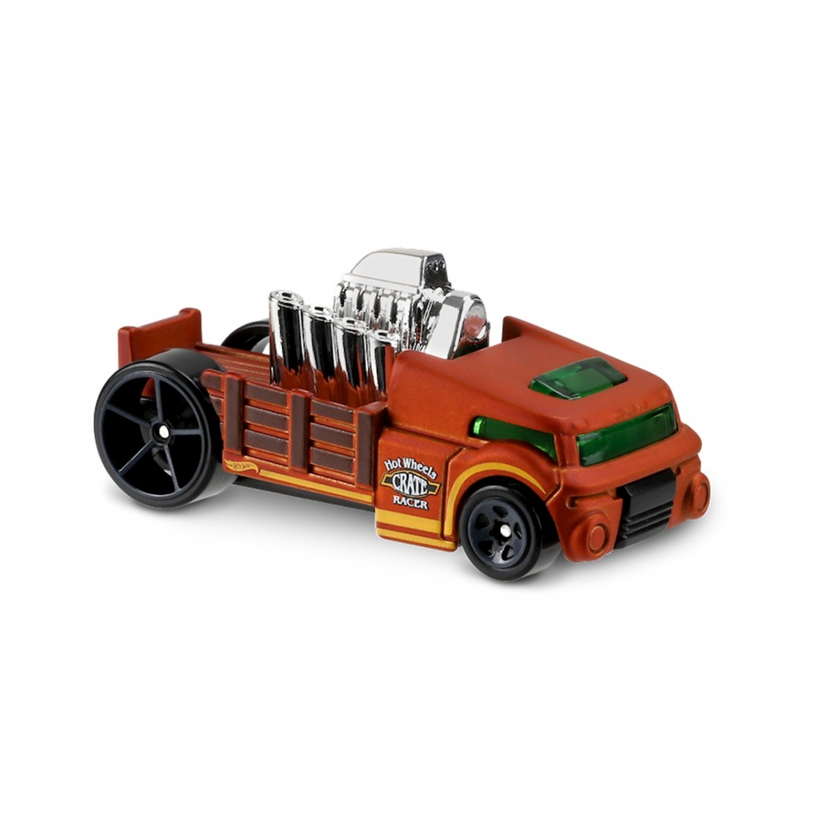 Carrinho Hot Wheels: Crate Racer Marrom