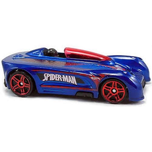 Carrinho Hot Wheels: Monoposto: Ultimate Spider-Man Sinister 6 Azul