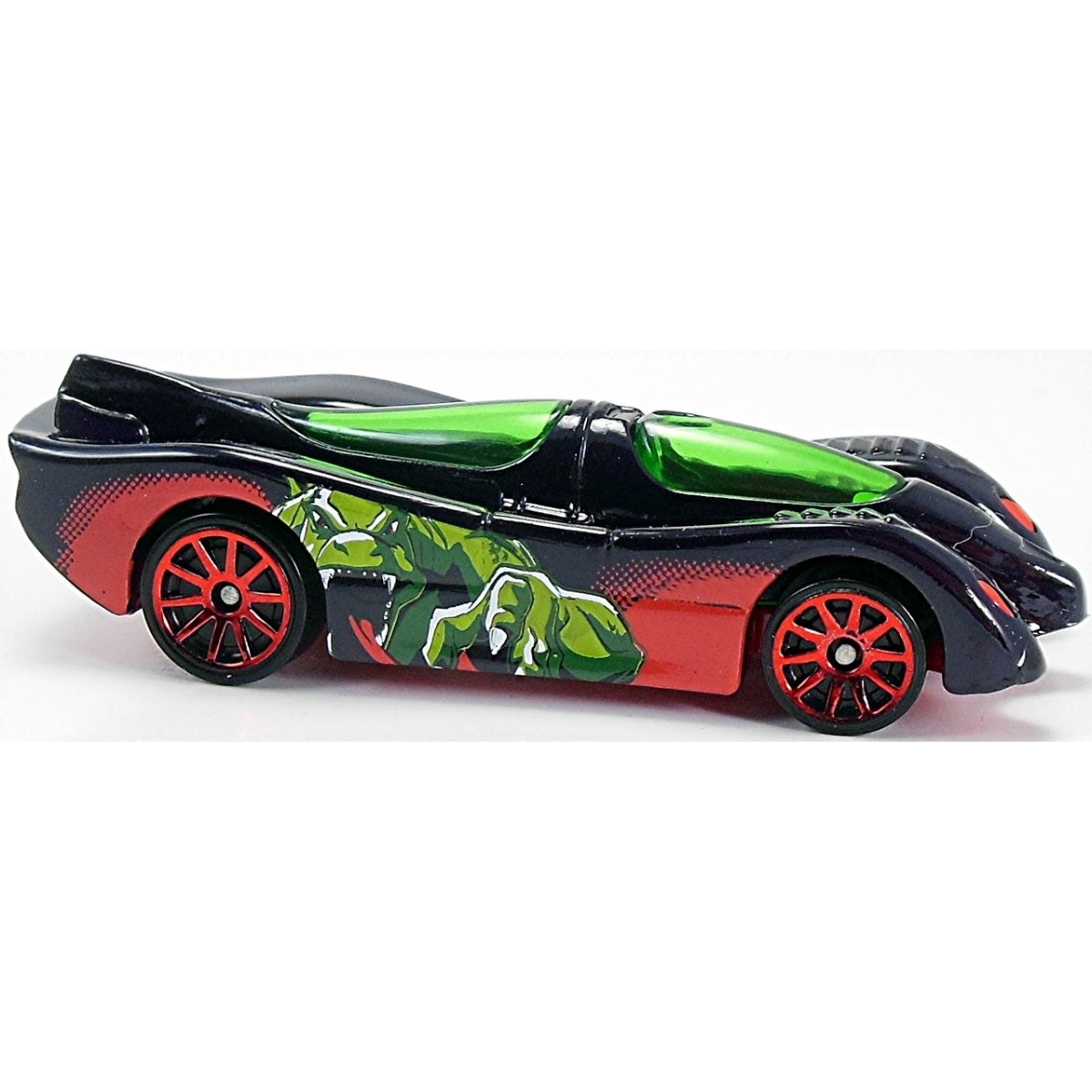 Carrinho Hot Wheels: Power Pistons: Ultimate Spider-Man Sinister 6 Preto