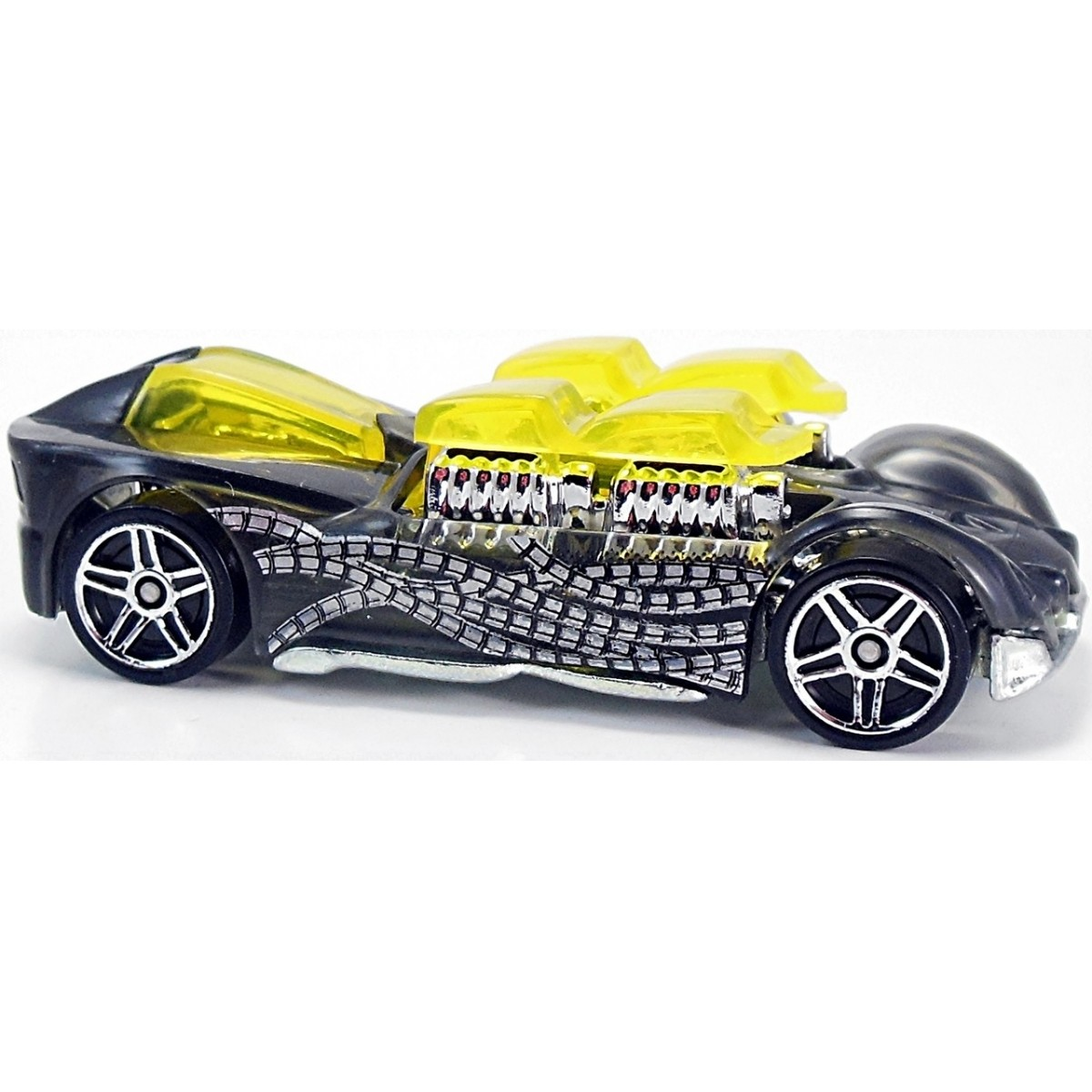 Carrinho Hot Wheels: What-4-2: Ultimate Spider-Man Sinister 6 Preto
