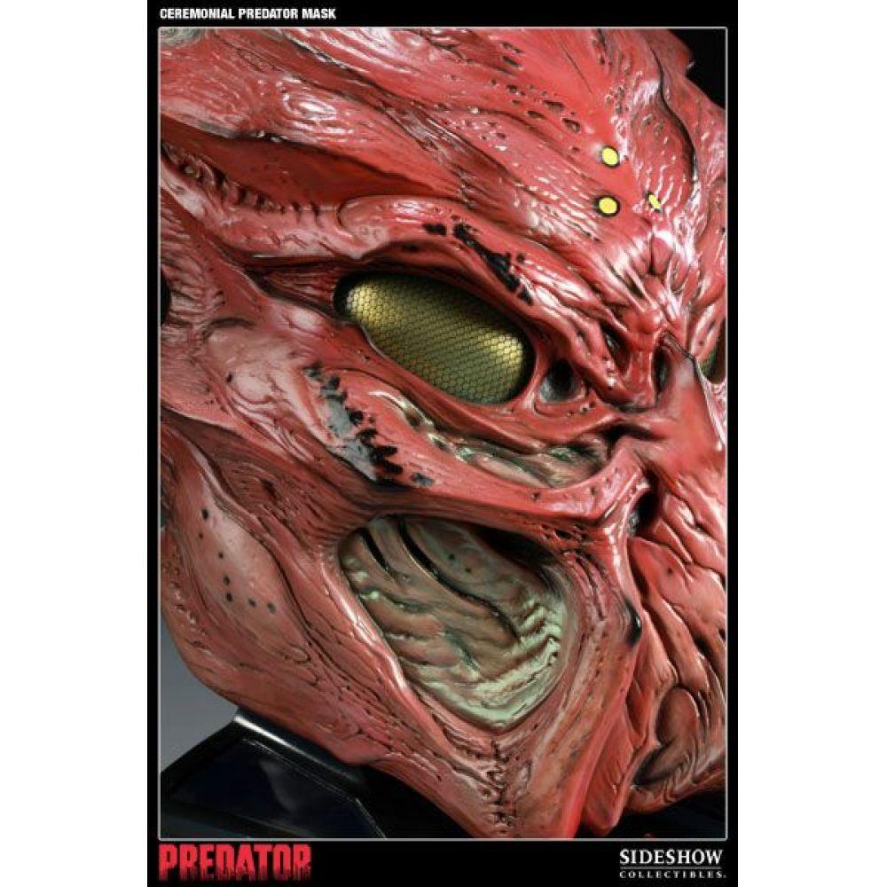 Ceremonial Predator Máscara Réplica Escala 1/1 - Sideshow (Produto Exposto)