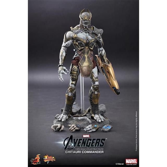 Chitauri Commander - The Avengers - Hot Toys  - Toyshow Colecionáveis
