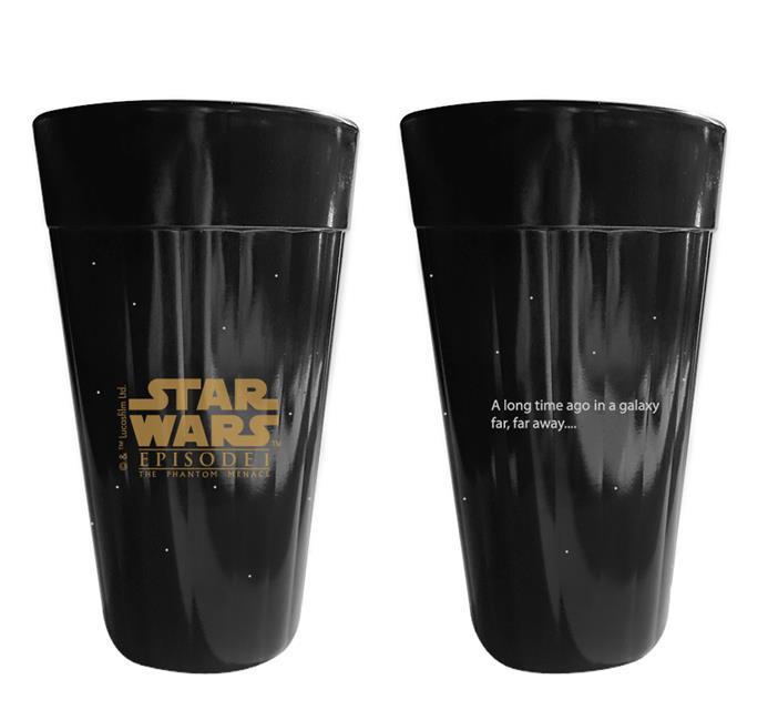 Copo Americano Star Wars Coleção Sagas I e II - NF  - Toyshow Colecionáveis