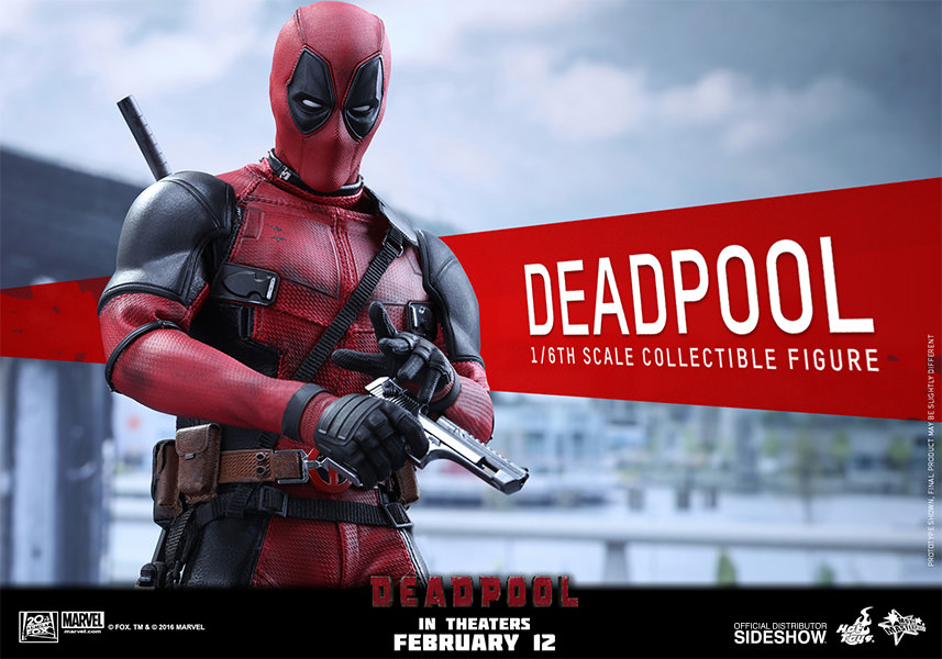 Deadpool Escala 1/6 - Hot Toys  - Toyshow Colecionáveis