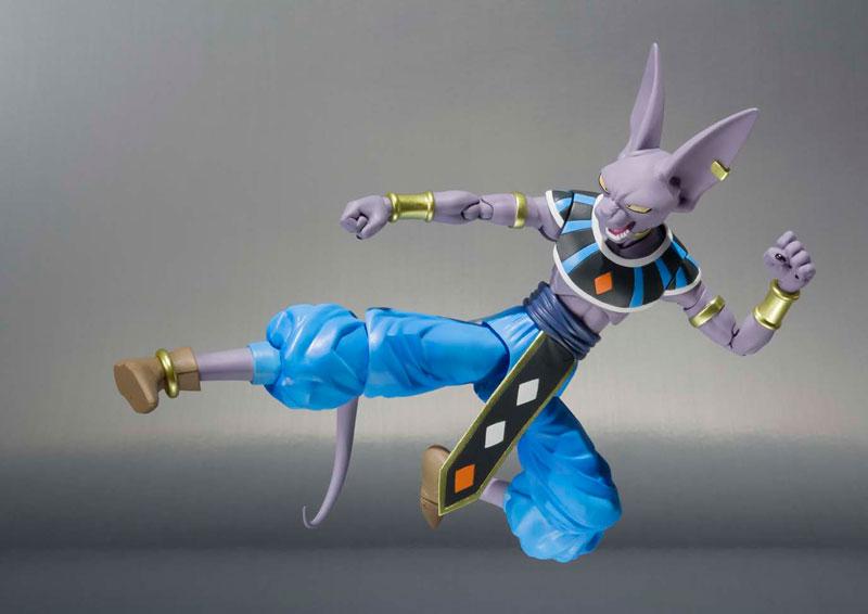 Dragon Ball Z: Beerus S.H Figuarts - Bandai  - Toyshow Colecionáveis