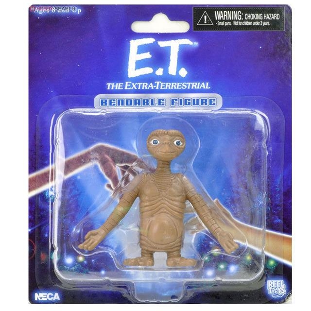 E.T. The Extra-Terrestrial Bendable - Neca