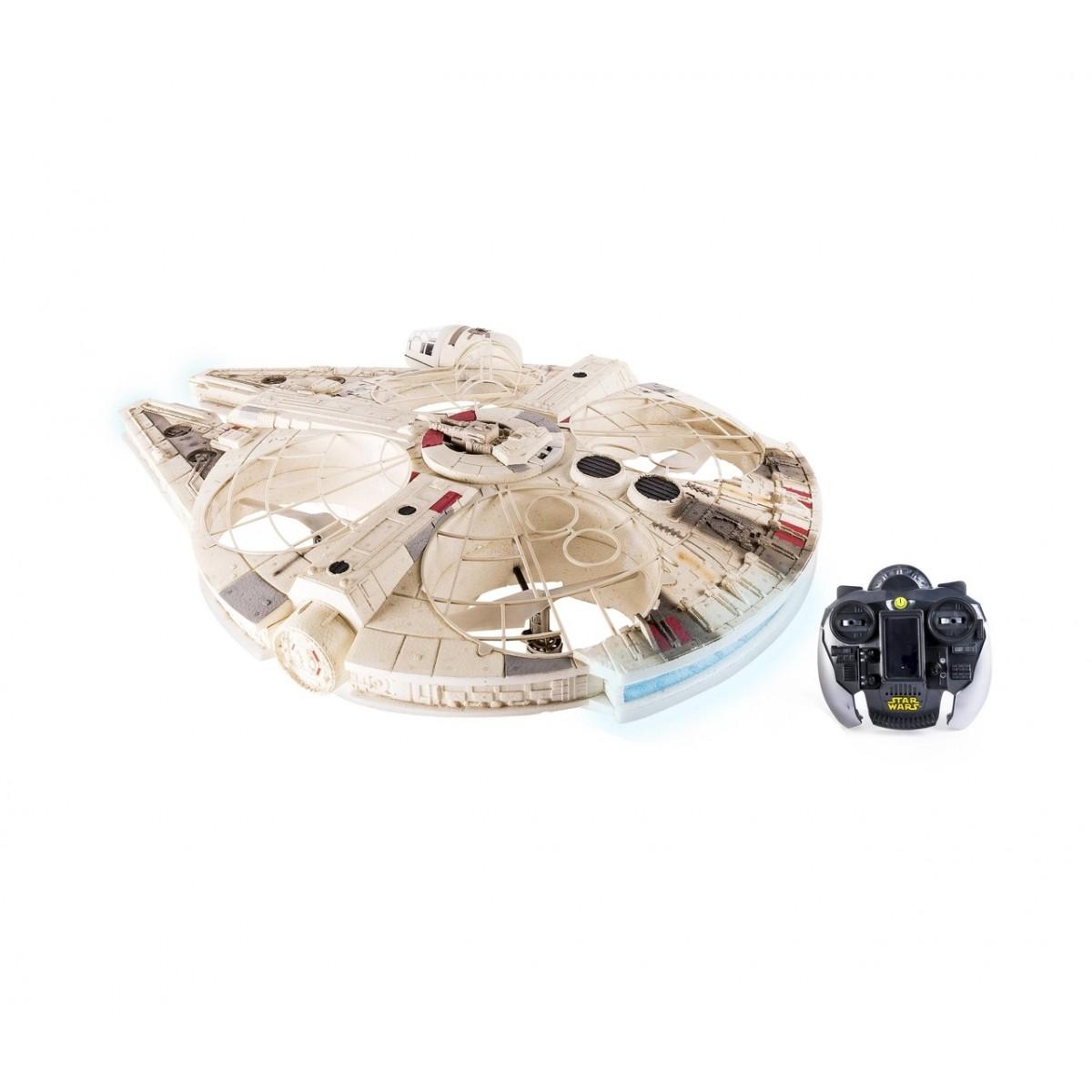 EM BREVE: Air Hogs Drone Millennium Falcon XL: Star Wars com Controle remoto