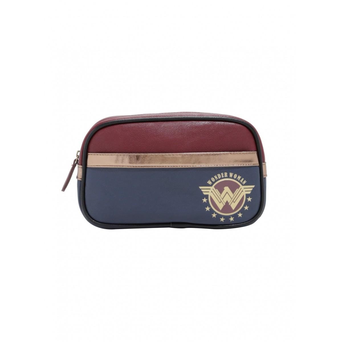 EM BREVE: Bolsa de Maquiagem (Makeup Bag) Mulher Maravilha (Wonder Woman): DC Comics