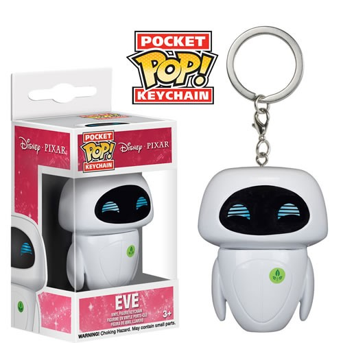EM BREVE: Pocket Pop Keychains (Chaveiro): Eve: Disney Wall-E - Funko