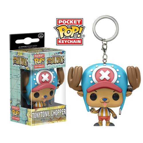 EM BREVE: Pocket Pop Keychains (Chaveiro): Tony Tony Chopper: One Piece - Funko
