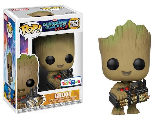 EM BREVE: Pop Groot com a Bomba: Guardiões da Galaxia Vol. 2 #263 - Funko