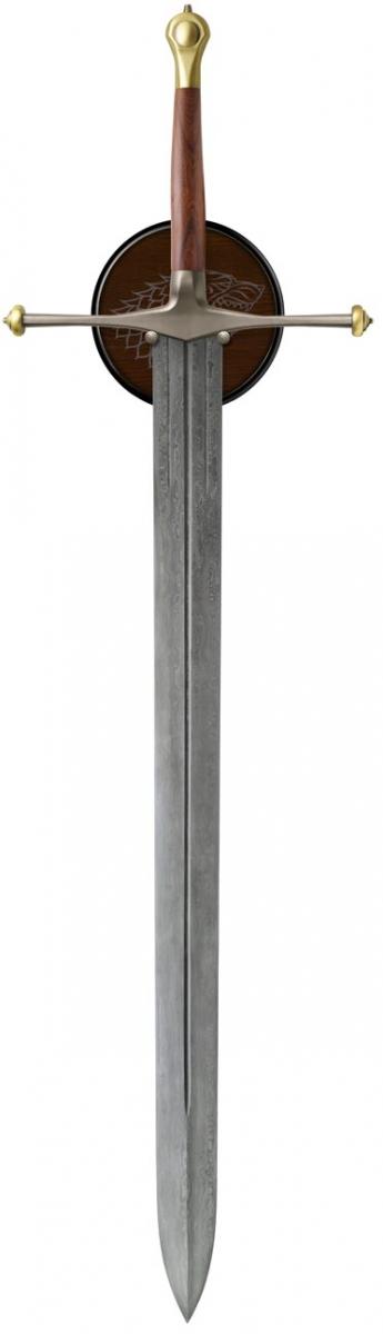 Espada Game of Thrones: Eddard Stark Ice Sword - Valyrian Steel  - Toyshow Colecionáveis