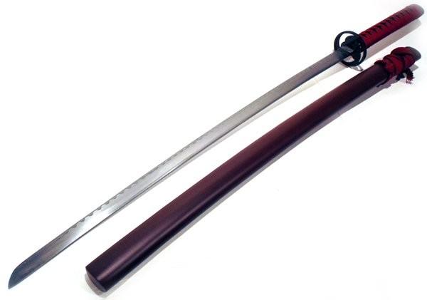 Espada Katana Samurai Marrom