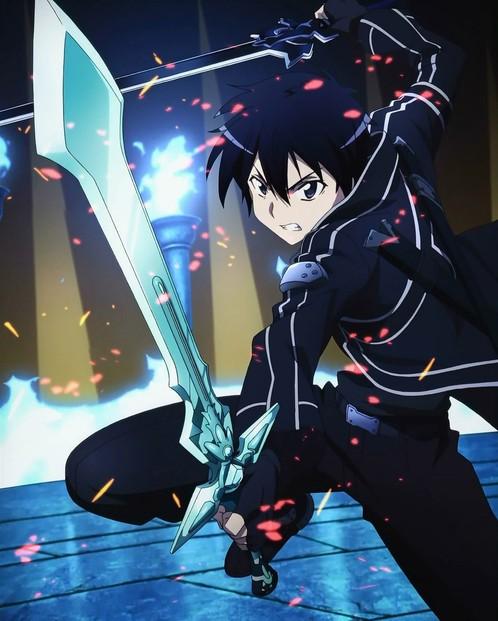 Espada Kirito Elucidator: Sword Art Online