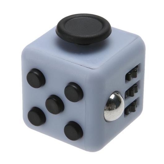 Resultado de imagem para fidget cube cinza com preto