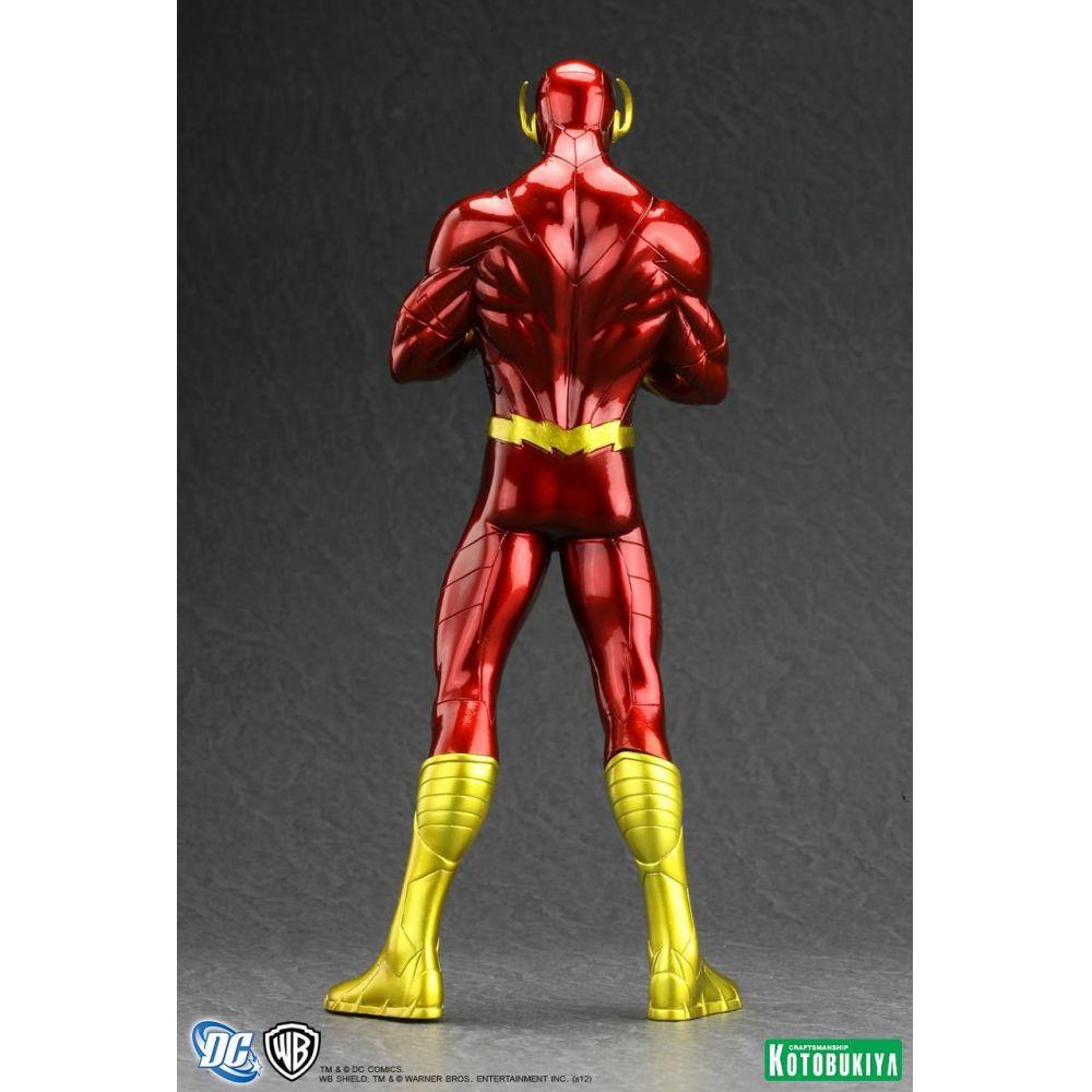 Flash New 52 - ArtFX+ Estátua Escala 1/10 - Kotokubiya  - Toyshow Colecionáveis