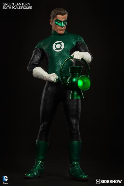 Green Lantern Escala 1/6 - Sideshow  - Toyshow Colecionáveis