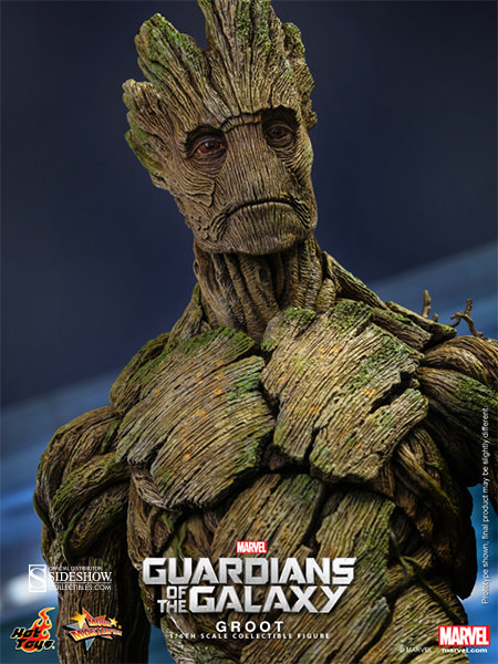 Guardians of The Galaxy: Groot Escala 1/6 - Hot  Toys   - Toyshow Colecionáveis