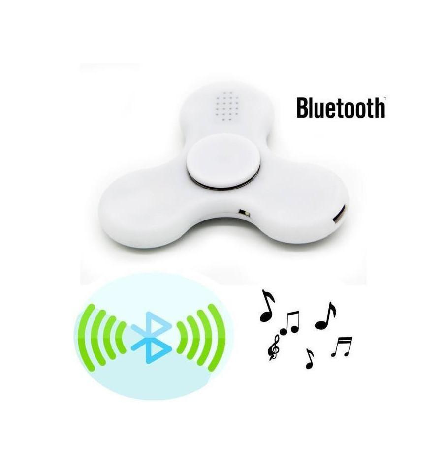 Hand Spinner com Bluetooth Azul - Rolamento Anti Estresse Fidget Hand Spinner