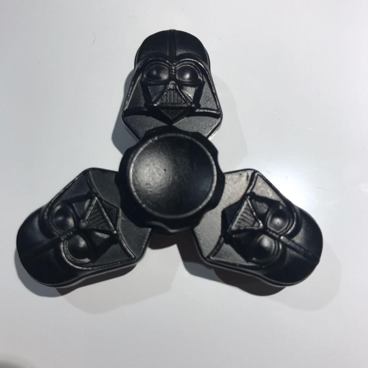 Hand Spinner Darth Vader - Rolamento Anti Estresse Fidget Hand Spinner