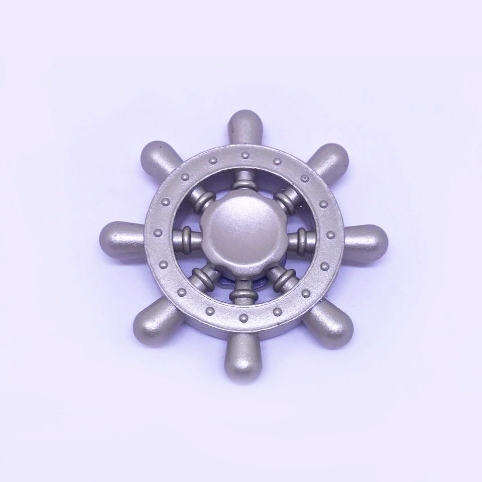 Hand Spinner Roda de Leme - Rolamento Anti Estresse Fidget Hand Spinner