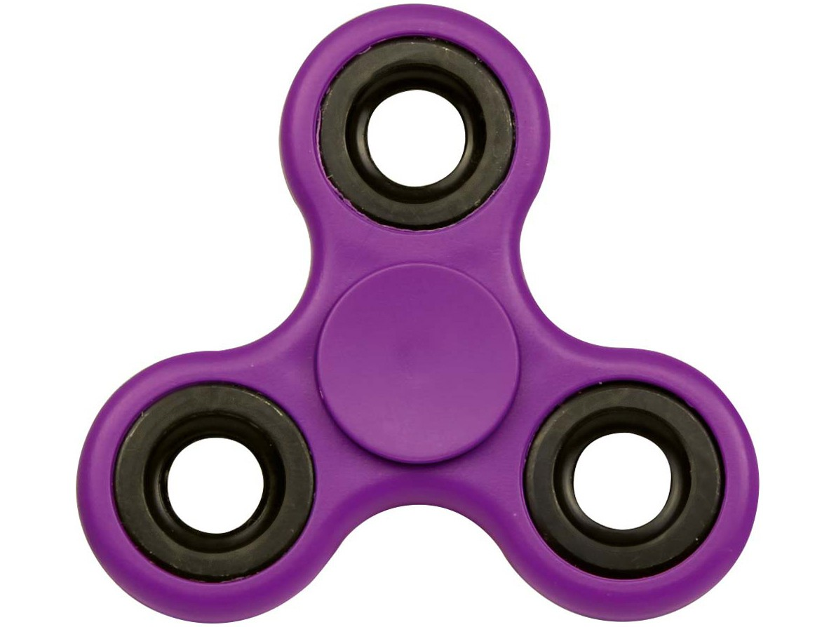 Hand Spinner ROXO - Rolamento Anti Estresse Fidget Hand Spinner