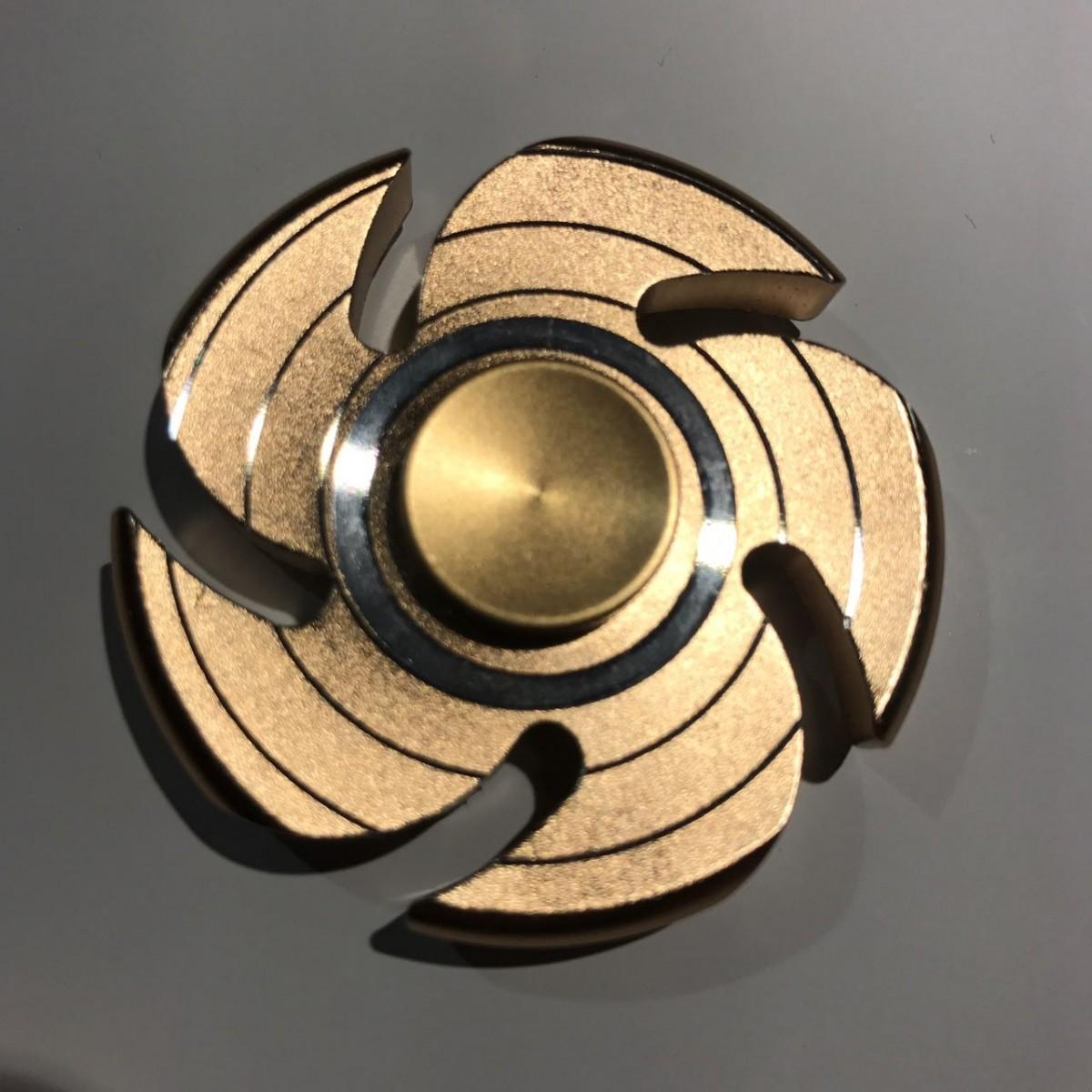 Hand Spinner Serra Circular - Rolamento Anti Estresse Fidget Hand Spinner