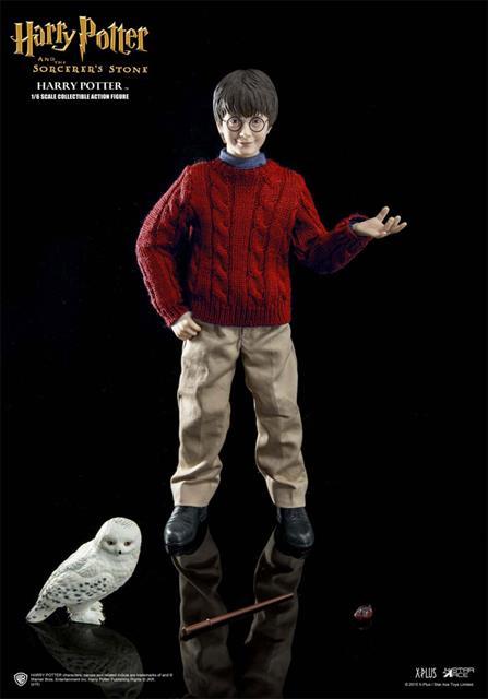 Harry Potter e a Pedra Filosofal Casual Wear Escala 1/6  - Star Ace  - Toyshow Colecionáveis