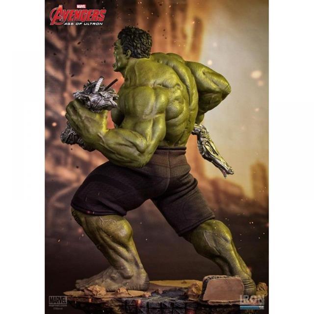 Hulk Avengers Age of Ultron Diorama Escala 1/6 - Iron Studios  - Toyshow Colecionáveis