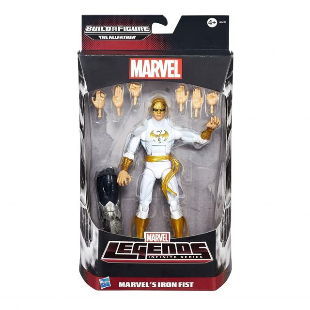 Iron Fist Marvel Legends Infinite Series - Hasbro