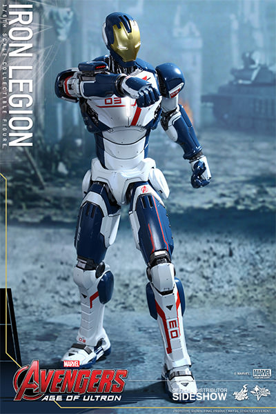 Boneco Iron Legion: Vingadores: Era de Ultron Escala 1/6 - Hot Toys - CD