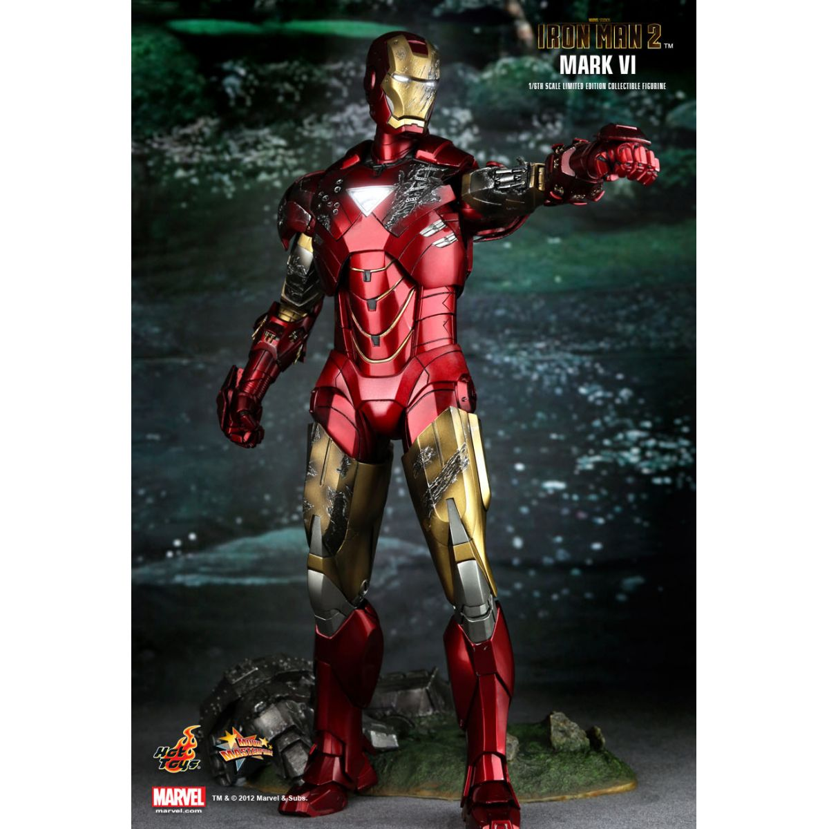Iron Man 2 Mark VI Escala 1/6 - Hot Toys