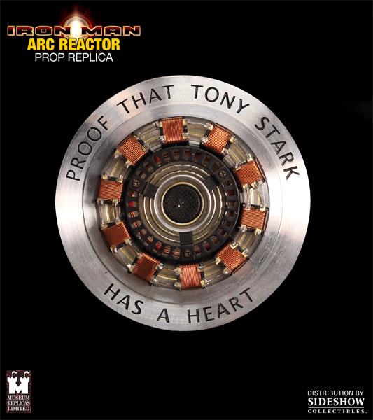 Iron Man: Arc Reactor Prop Replica - Sideshow  (Produto Exposto)  - Toyshow Colecionáveis
