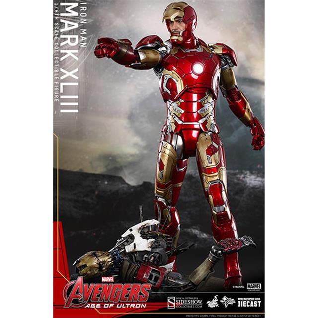 Iron Man Mark XLIII - Avengers Age of Ultron - Hot Toy  - Toyshow Colecionáveis