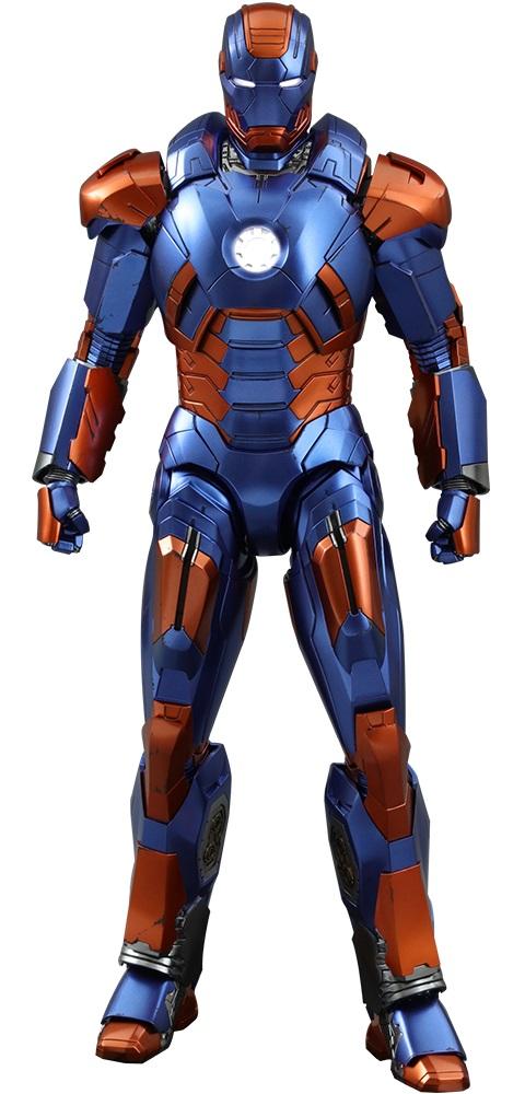 Iron Man Mark XXVII Disco Exclusivo Escala 1/6 - Hot Toys  - Toyshow Colecionáveis